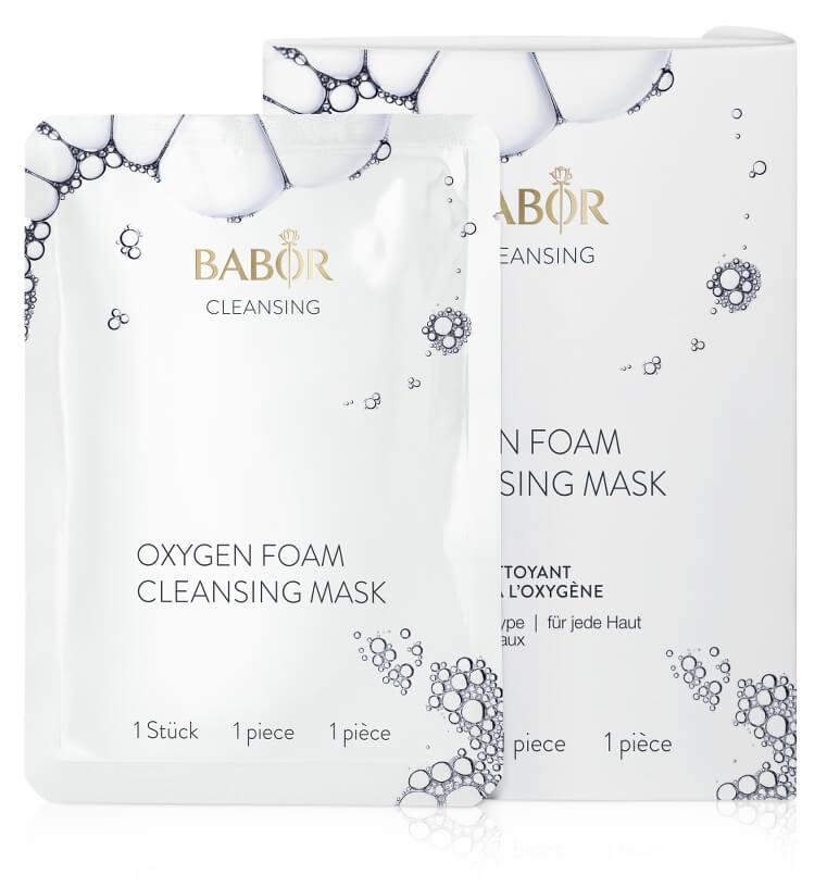 BABOR Oxygen Cleansing Foam Mask - 2 Stück
