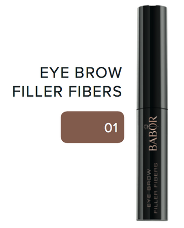 BABOR Eye Brow Filler Fibers 01 brown