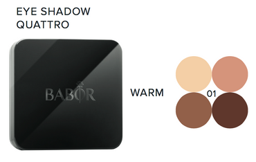 BABOR Eye Shadow Quattro 01 warm