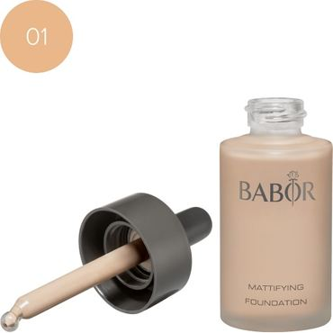BABOR Mattifying Foundation 01 ivory – Bild 1