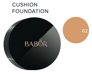 BABOR Cushion Foundation 02 natural (Sonderpreis, UVP 39 €) – Bild 2